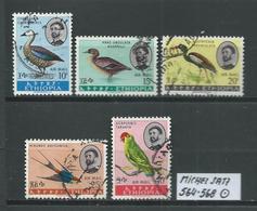 ÄTHIOPIEN MICHEL SATZ 564 - 568 Gestempelt Siehe Scan - Ethiopie