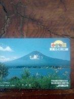 JAPON JAPAN FUJI YAMA 1000Y UT - Volcanes