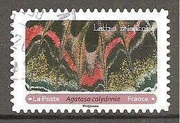 FRANCE 2020 Y T N ° 1??? Oblitéré CACHET ROND Ailes Papillons - France