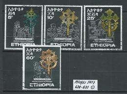 ÄTHIOPIEN MICHEL SATZ 628 - 631 Gestempelt Siehe Scan - Ethiopie