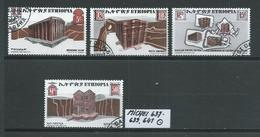 ÄTHIOPIEN MICHEL 637 - 639,641 Gestempelt Siehe Scan - Ethiopie