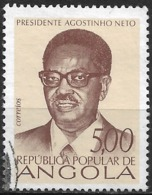 Angola – 1976 Agostinho Neto 5.00 Used Stamp - Angola