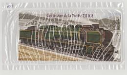 """FRANCE - Bloc Souvenir N° 68 - Neuf Sous Blister - """"Centenaire De La Pacific 231 K 8"""" - - Sheetlets"""