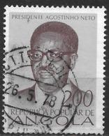Angola – 1976 Agostinho Neto 2.00 Used Stamp - Angola