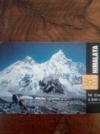 TCHEQUIE MONTAGNE  MOUNTAIN HIMALAYA MT EVEREST 8848M 50U UT - Montagne