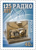 Russia 2020 125 Anniversary Of Radio Stamp MNH - Unused Stamps