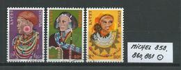 ÄTHIOPIEN MICHEL 858,860,861 Gestempelt Siehe Scan - Ethiopie