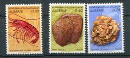(CL 29 - P 7) Algérie * N° 510 à 513 - Animaux Marins - Argelia (1962-...)