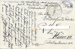 WWI AUSTRIA K.U.K. KRIEGSMARINE  S.M.S. HELGOLAND  - POLA 6 MAGGIO 1916 - P7 - Guerre