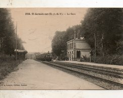 St - Germain  Sur  Ille -  La  Gare. - Other Municipalities