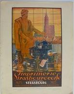 Imprimerie Strasbourgeoise, Publicité, 1925 - Advertising
