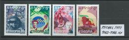ÄTHIOPIEN MICHEL SATZ 1063 - 1066 Postfrisch Siehe Scan - Ethiopie