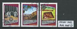ÄTHIOPIEN MICHEL 1082,1084,1085 Gestempelt Siehe Scan - Ethiopie