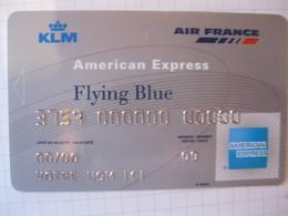 Télécarte Air France American Express Flying Blue Argent - Carte Di Credito (scadenza Min. 10 Anni)