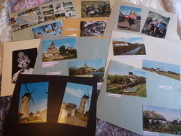 85. CPA-CPSM-CPM. Vendée. Lot De 152 Cartes (collées Sur Support Papier) (autres Régions Sur Demande) - Postcards