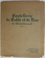 Catalogue De La Coutellerie De Chatellerault - Knives