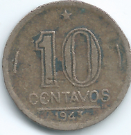 Brazil - 1943 - 10 Centavos - KM555 - Brésil
