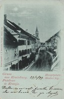 OLD POSTCARD AUSTRIA SLOVENIA - GRUSS AUS KRAINBURG - POZDRAV IZ KRANJA - VIAGGIATA 1899 - P10 - Slowenien