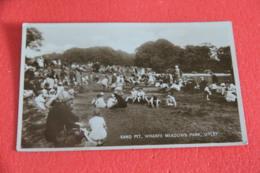 Yorkshire Otley Sand Pitt Wharfe Meadows Park NV - England
