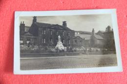 Yorkshire Mitholmroyd The War Memorial Statue Rppc NV - England