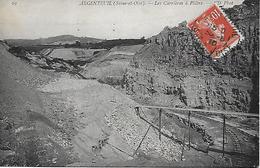 ARGENTEUIL -  1910 -   LES CARRIERES A PLATRE - Argenteuil
