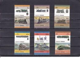 FUNAFUTI : TUVALU - Locomotives / Railways - Treni