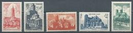 France YT N°772/776 Cathédrales Et Basiliques Neuf ** - Unused Stamps
