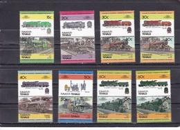 FUNAFUTI : TUVALU -1984 Locomotives / Railways - Treni