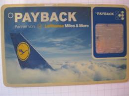 "Télécarte Lufthansa  Frequence Plus ""point Mile"" - Carte Di Credito (scadenza Min. 10 Anni)"