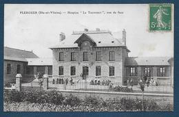 """PLERGUER - Hospice """" Le Tronchet """" , Vue De Face - Francia"""