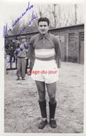 PHOTO ANCIENNE AUTOGRAPHE DÉDICACE CARLOS SOSA  FOOTBALLEUR FOOTBALL RC PARIS ET  ARGENTINE - Calcio