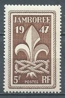 France YT N°787 Jamboree Neuf ** - Unused Stamps