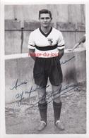 PHOTO ANCIENNE AUTOGRAPHE DÉDICACE JEAN JACQUES KRETZCHMAR  FOOTBALLEUR FOOTBALL A.S MONACO  F.C SÈTE - Calcio