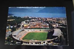 B780 Lausanne Ouchy Le Stade Olympique La Ville Et Le Lac Leman Stadium - VD Vaud