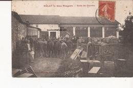 52 Melay (langres ) Usine Mougeotte Sortie Des Ouvriers - France