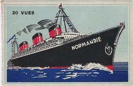 Bateau Paquebot  Normandie - Paquebote