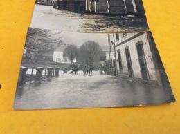 MOYENMOUTIER  ♥️ 2 Cartes Photos Sur. Inondations De 1919 - France