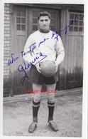 PHOTO ANCIENNE AUTOGRAPHE DÉDICACE GEORGES LAMIA FOOTBALLEUR FOOTBALL OGC NICE - Calcio