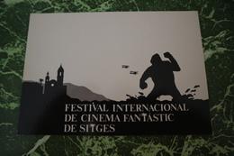 1 Carte Postale Fest.cinema Fantastique SITGES '(1989) - Cinema