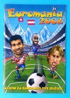 UEFA EURO 2008 Austria-Switzerland ... Croatian Empty Album ** TOP ** Football Soccer Fussball Calcio Foot Futbol - Trading Cards