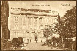 Romania / Hungary - Transylvania: Nagyvárad (Oradea / Großwardein), Austrian Hungarian Bank Palace  1915 - Romania