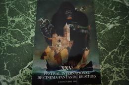 1 Carte Postale Fest.cinema Fantastique SITGES '(1992) - Cinema