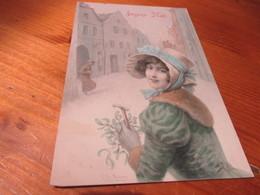 Mooie Fantasiekaart,edit Vienne - Fantaisies