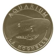 Monnaie De Paris , 2011 , La Rochelle , Aquarium , Le Requin Taureau - Monnaie De Paris