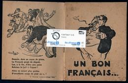 Carnet Propagande Antisémite Judaisme Holocauste Guerre Collaboration Ed Mageyrie Paris 14 Pages Très Rare Voir Scans Ex - Documents Historiques
