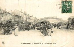 BERGERAC MARCHE DE LA PAILLE ET DU BOIS - Bergerac
