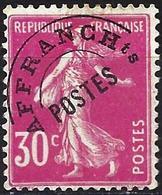 """France 1925 - Mi 186V - YT Po 59 ( """"Sower"""" Pre-canceled ) MNG - Préoblitérés"""