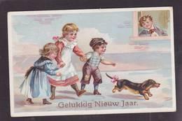 CPA Teckel Dachshund Dackel Circulé - Dogs