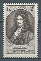 France YT N°848 Jean Racine Neuf ** - Unused Stamps