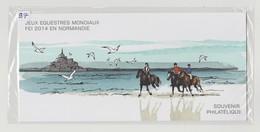 """FRANCE - Bloc Souvenir N° 97 - Neuf Sous Blister - """"Jeux équestres Mondiaux FEI 2014 En Normandie"""" - - Sheetlets"""